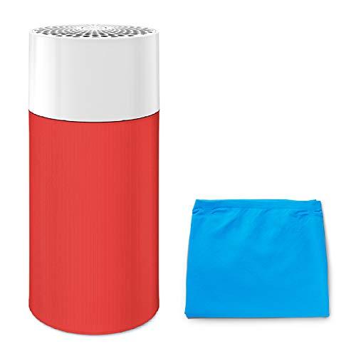 ブルーエア 空気清浄機 Blue Pure 411R 13畳 プレフィルター 2枚セットモデル(ブルー+レッド) Blueair Particle + Carbon 360度吸引 Saffron Red 201436-R