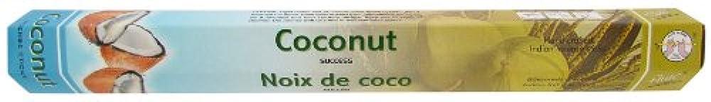 インドお香 フルート社 ステックタイプ香 【ココナッツ】6箱セット