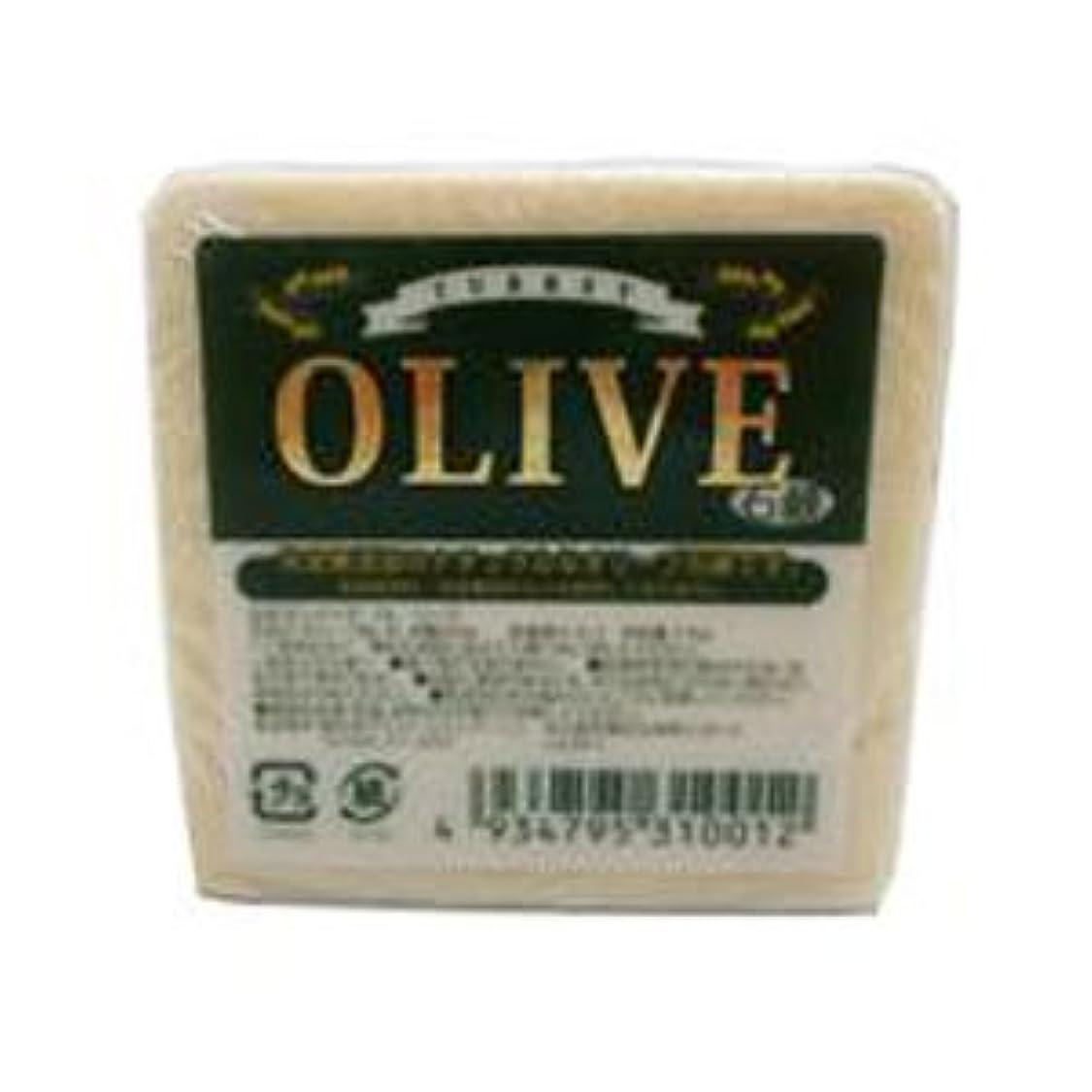 おそらくにおい挽くお得な5個セット トルコ産オリーブを使用した無添加石鹸 ターキーオリーブ石鹸 135g