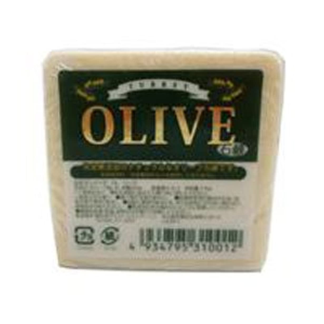 仕事依存に負けるお得な5個セット トルコ産オリーブを使用した無添加石鹸 ターキーオリーブ石鹸 135g