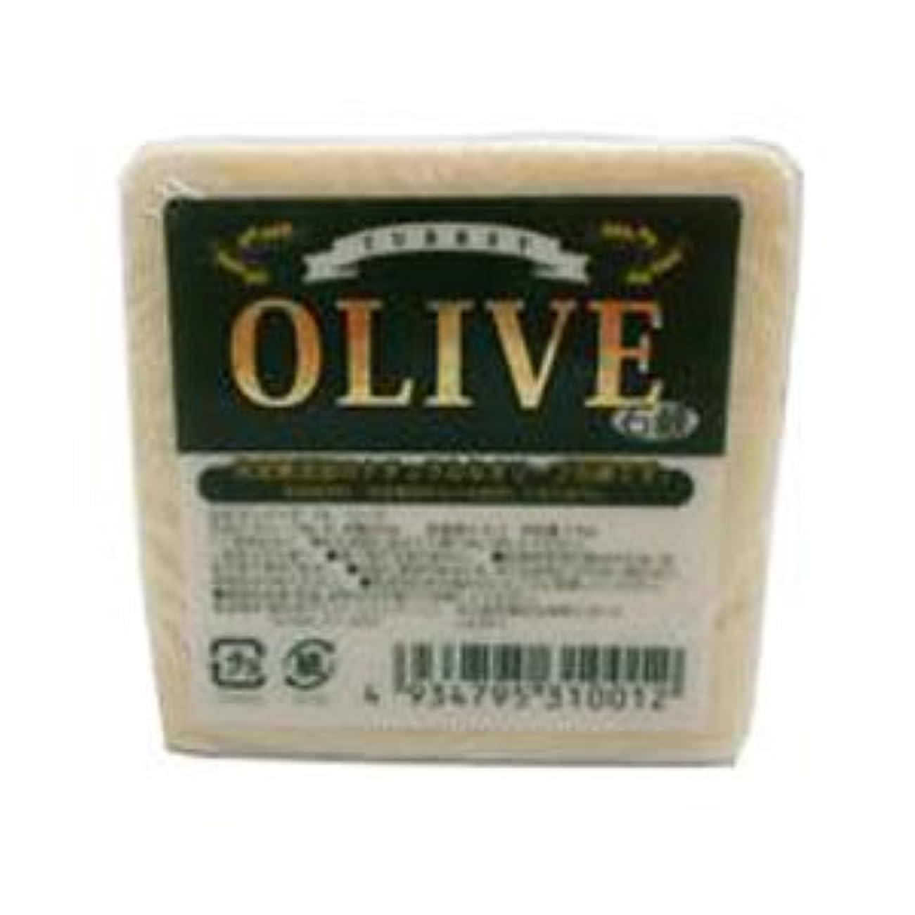 ビヨン夏気づかないお得な5個セット トルコ産オリーブを使用した無添加石鹸 ターキーオリーブ石鹸 135g