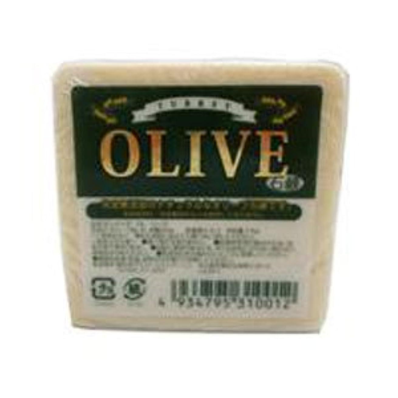 千移植ユーモラスお得な10個セット トルコ産オリーブを使用した無添加石鹸 ターキーオリーブ石鹸 135g
