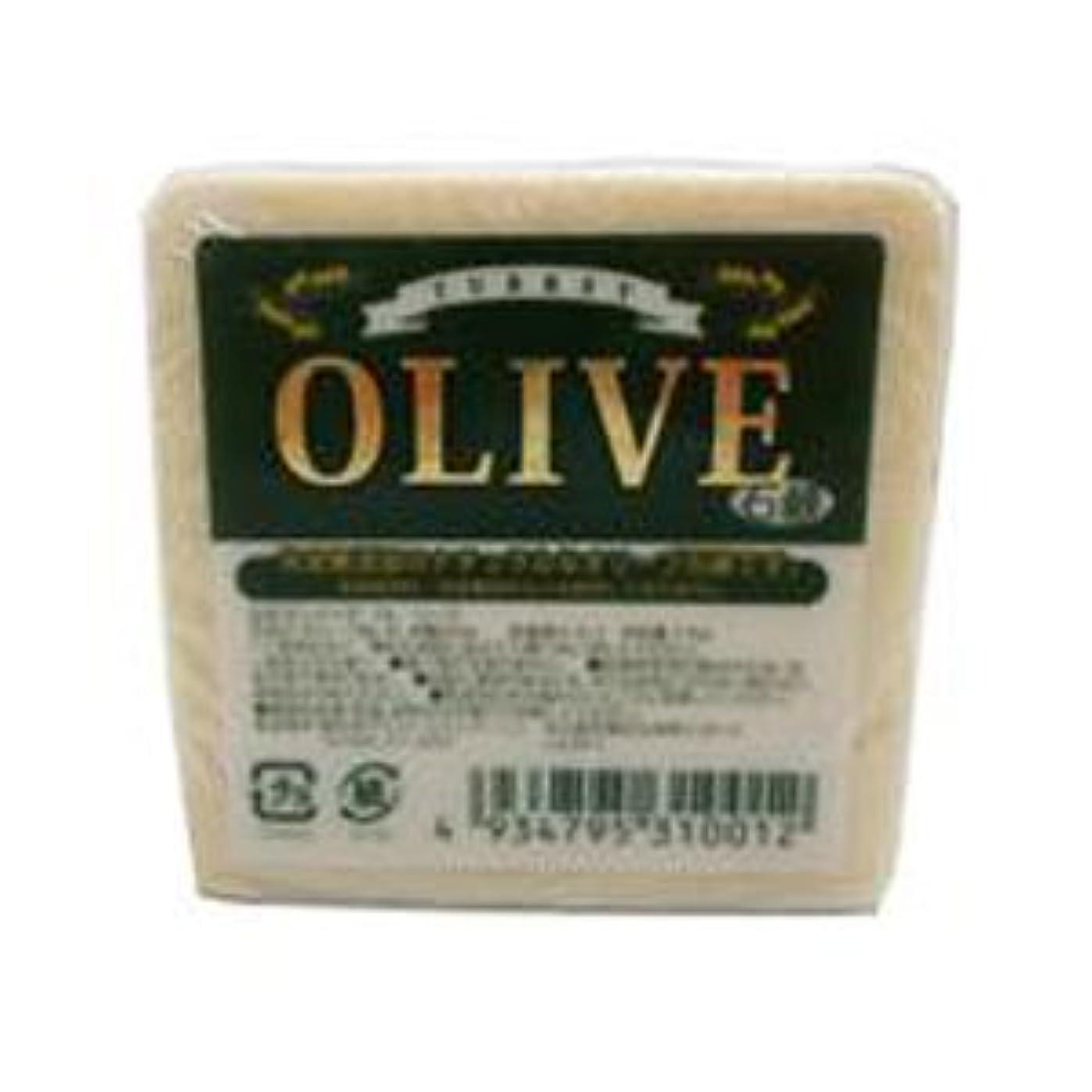 支店カラスマージンお得な10個セット トルコ産オリーブを使用した無添加石鹸 ターキーオリーブ石鹸 135g