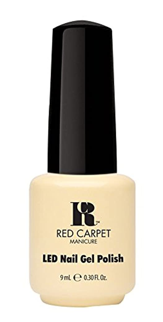 慈悲ファセットぺディカブRed Carpet Manicure - LED Nail Gel Polish - Fairy Tale Moment - 0.3oz / 9ml
