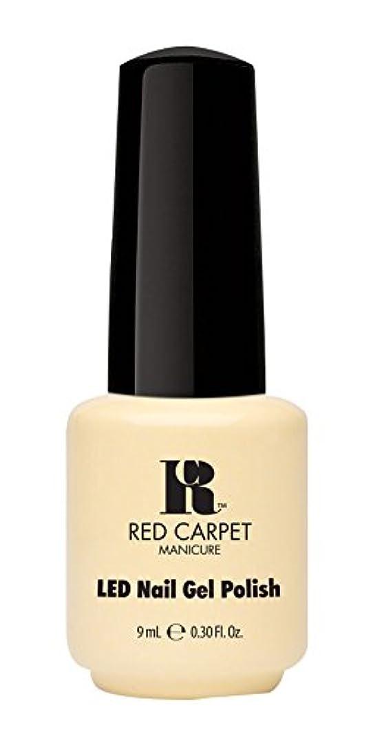 結婚式結婚式へこみRed Carpet Manicure - LED Nail Gel Polish - Fairy Tale Moment - 0.3oz / 9ml