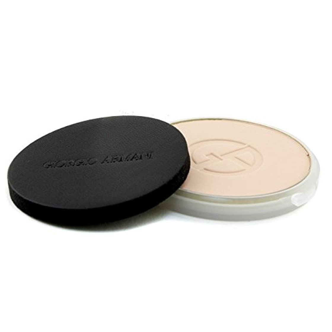 バランスインサート感染するジョルジオアルマーニ Lasting Silk UV Compact Foundation SPF 34 (Refill) - # 3 (Light Sand) 9g/0.3oz並行輸入品