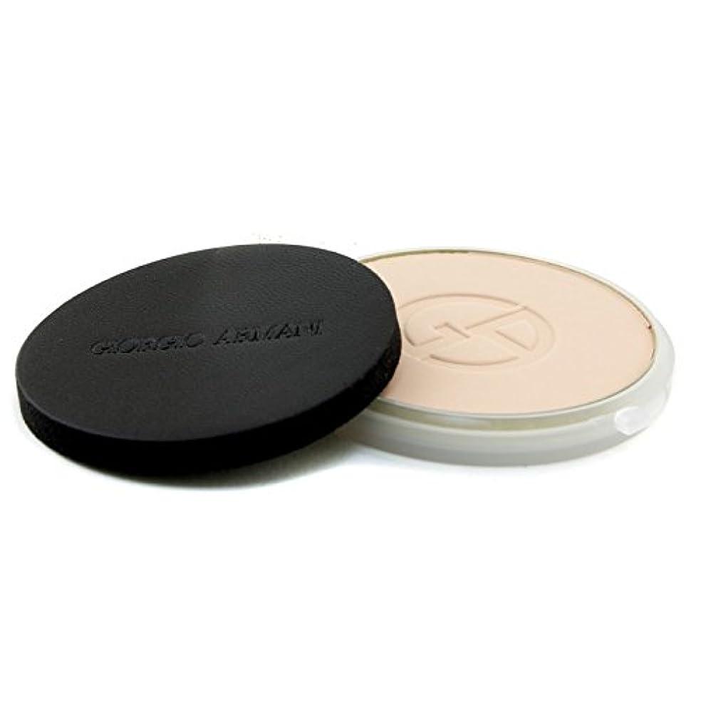 気分が良いモザイク皮肉なジョルジオアルマーニ Lasting Silk UV Compact Foundation SPF 34 (Refill) - # 3 (Light Sand) 9g/0.3oz並行輸入品
