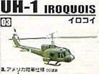 1/144 ヘリボーンコレクション UH-1 イロコイ b. アメリカ陸軍仕様 ベトナム迷彩塗装 エフトイズ F-toys IROQUOIS UH-1C イロコイス