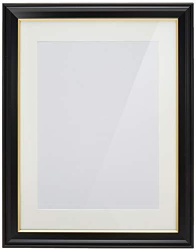 KING 額縁 肖像額 太子判(八〇) 特殊サイズ 木製 ブラック 716675