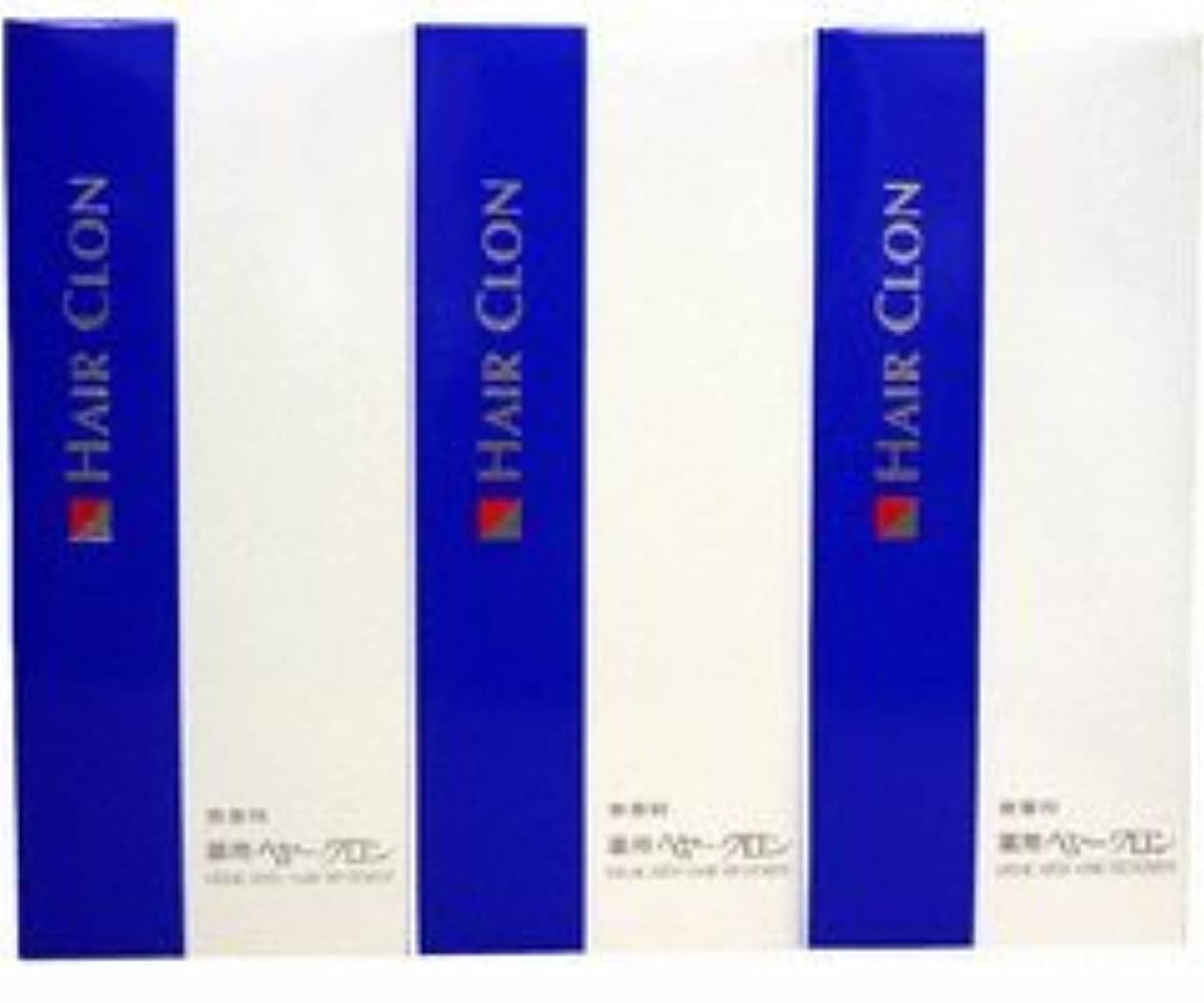 フィールドジョットディボンドン天国サンスター 薬用ヘヤークロン 無香料190ml  3個セット