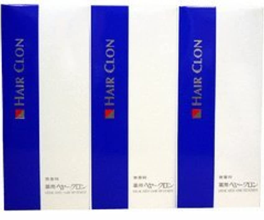 かまど指定する換気するサンスター 薬用ヘヤークロン 無香料190ml  3個セット
