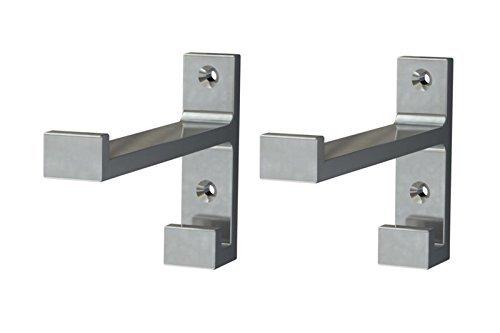 BJARNUM hooks Bathroom storage room , Utility Hooks aluminium 2 pack-Save space