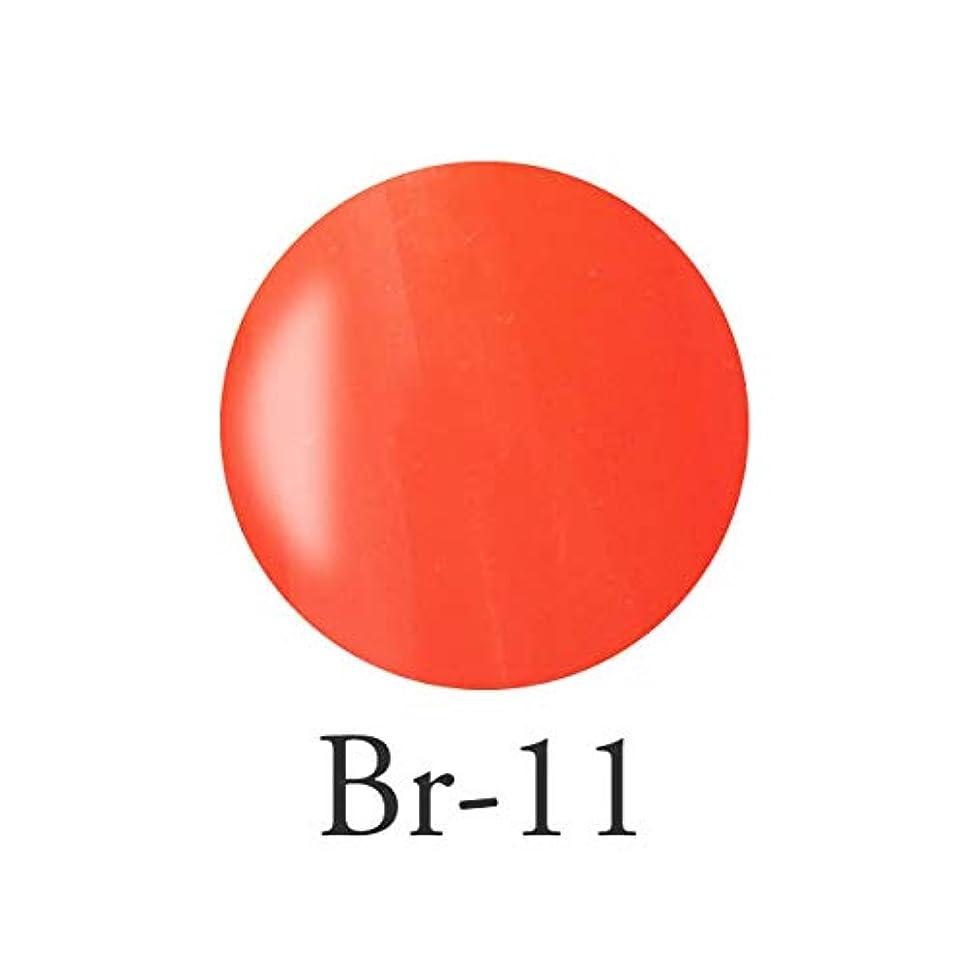 赤ちゃんスキニー遺伝的エンジェル クィーンカラージェル コロンブオレンジ Br-11 3g