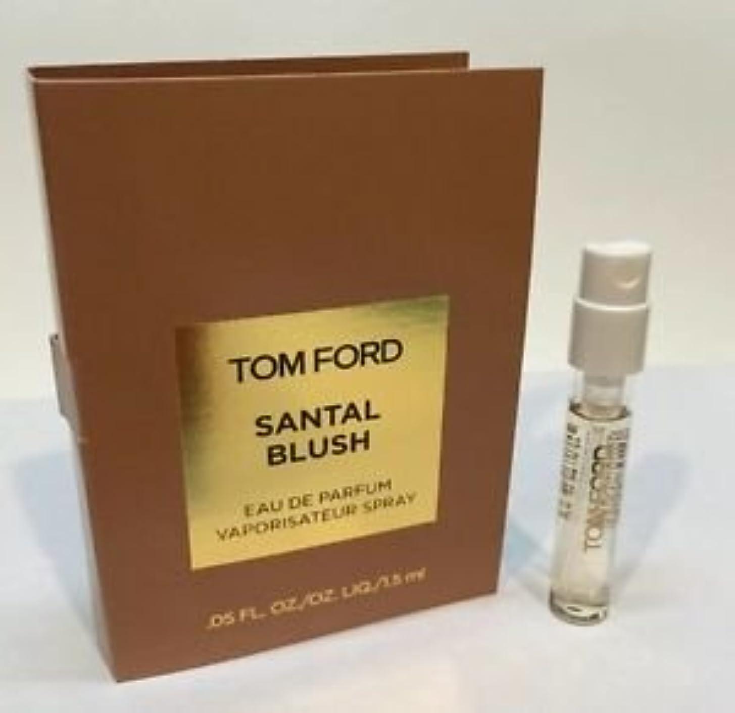 強調ラリー連続的Tom Ford Private Blend 'Santal Blush' (トムフォード プライベートブレンド サンタルブラッシュ) 1.5 ml EDP Sample (メーカーオリジナルサンプル)