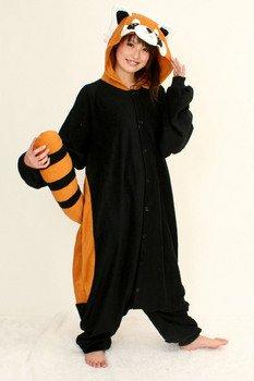 フリース着ぐるみ!レッサーパンダ!