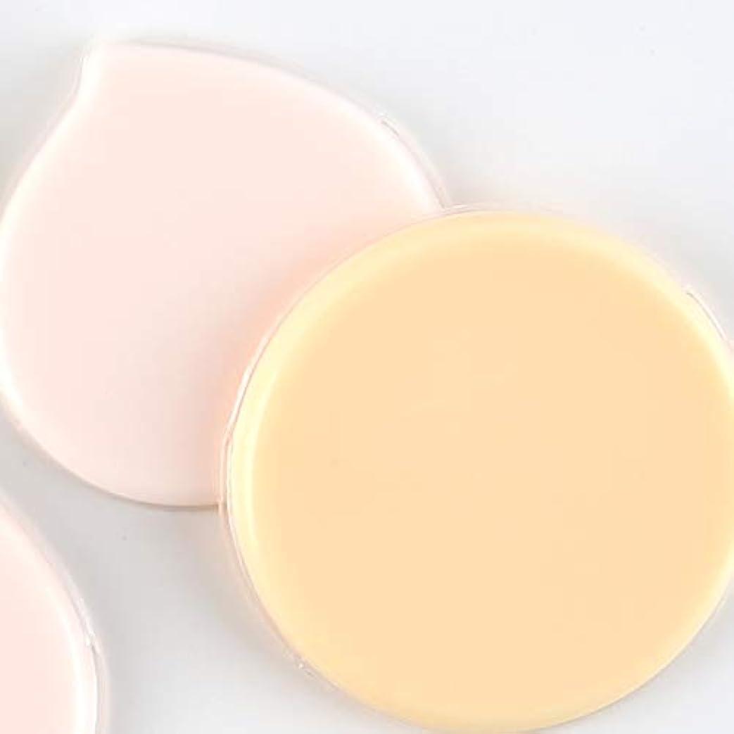 俳優意気込み戦士マイクロセルパフ Jelly farm+ ムラ付かない均等な仕上がりの経済的で衛生的な新感覚パフ (オレンジ)