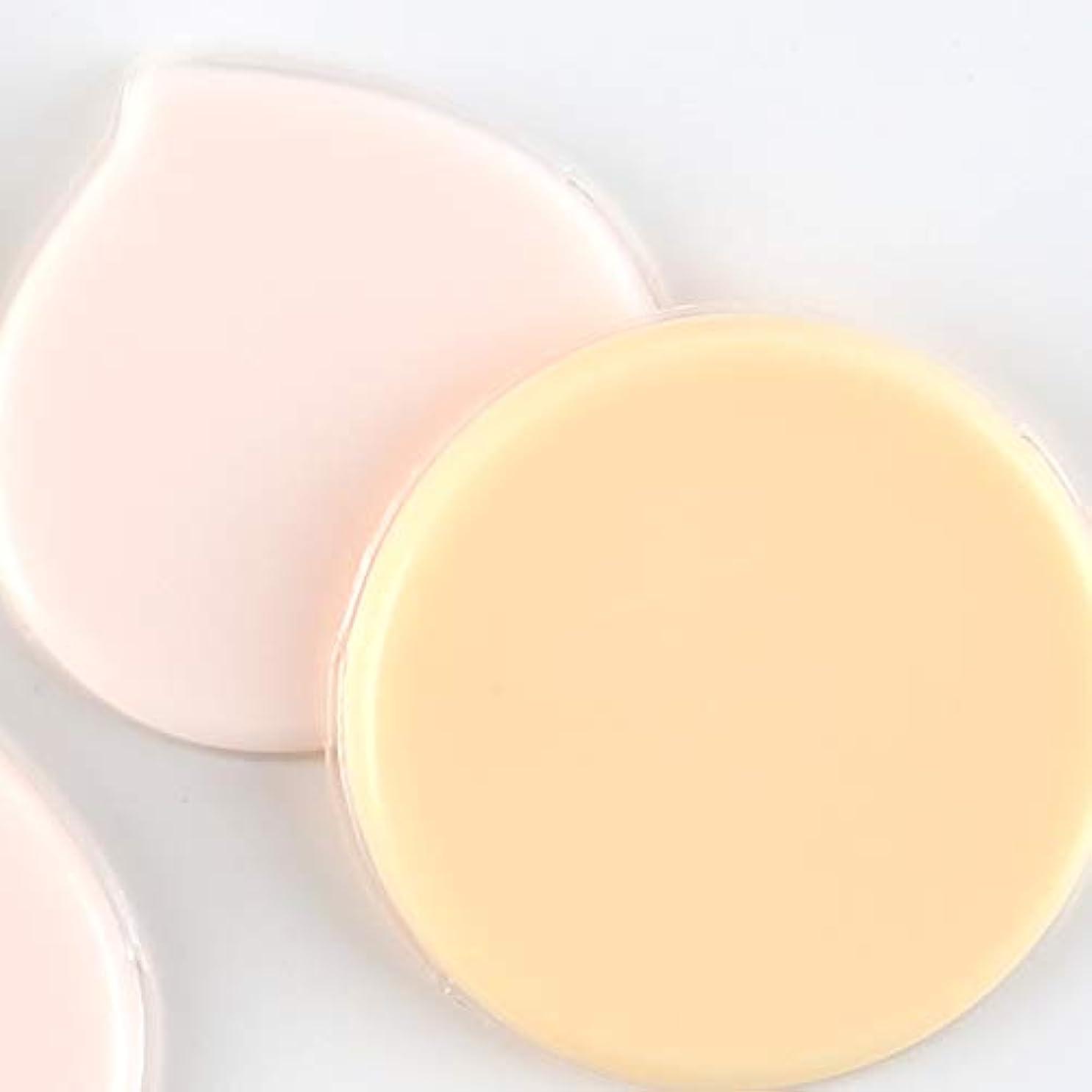 航空後ハンディマイクロセルパフ Jelly farm+ ムラ付かない均等な仕上がりの経済的で衛生的な新感覚パフ (オレンジ)