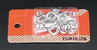 エスコ 12mm両面ハトメ(真鍮製/20組) EA576MG-12