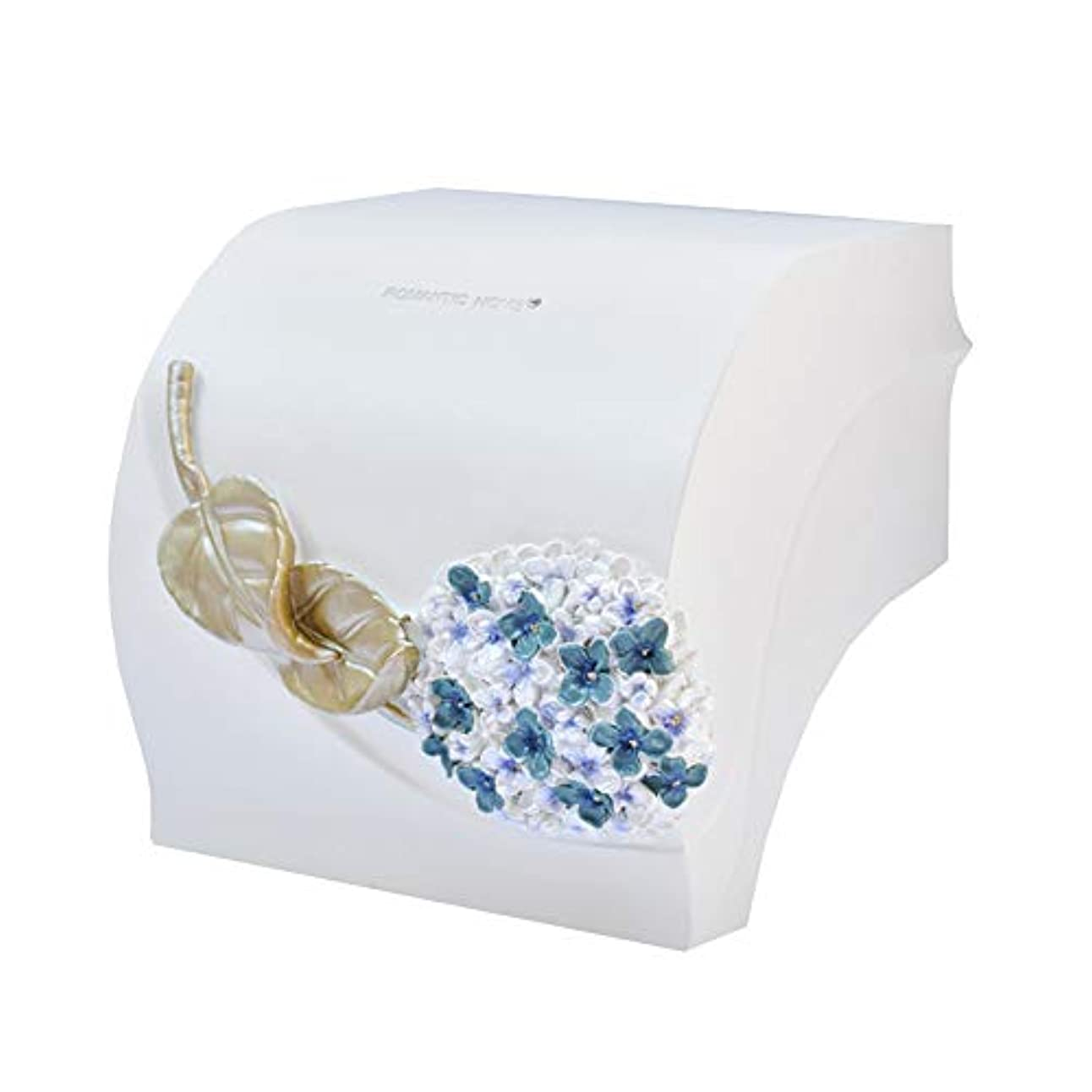 インペリアルプロトタイプ今後ZZLX 紙タオルホルダー、北欧家庭パンチ穴壁掛けトイレ防水ティッシュボックストイレットペーパーホルダー ロングハンドル風呂ブラシ (色 : C)