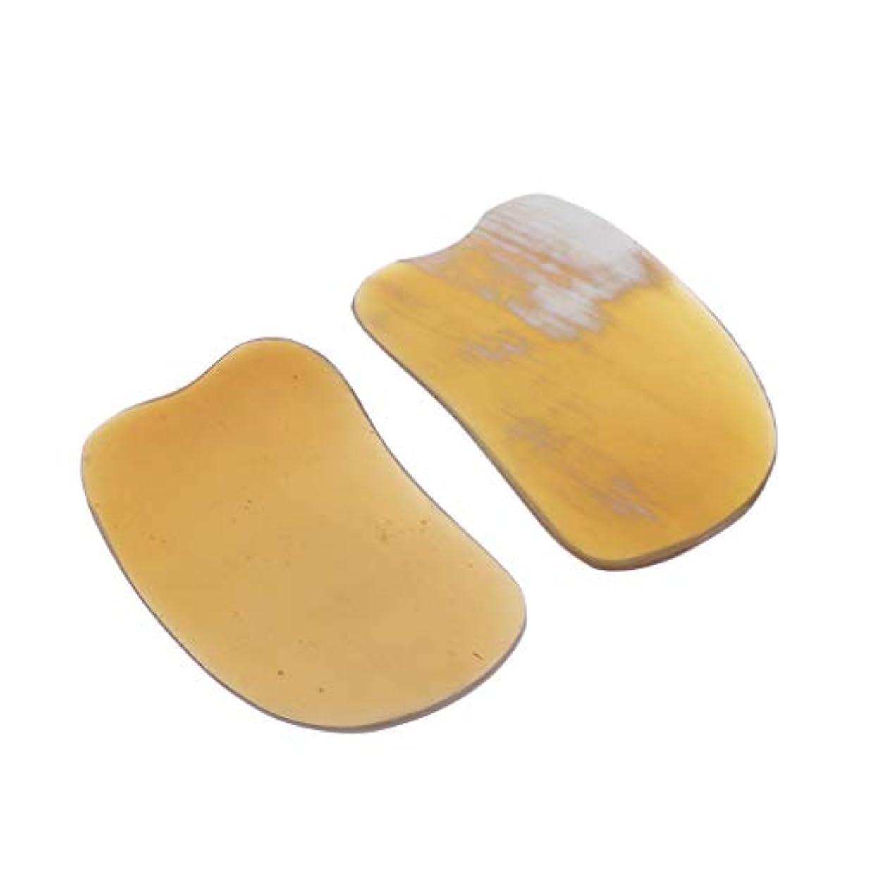 憤るライトニング混合P Prettyia ナチュラル ボディフェイシャルグアシャ 削り盤ハンドヘルドスパ マッサージツール 全4サイズ - 02
