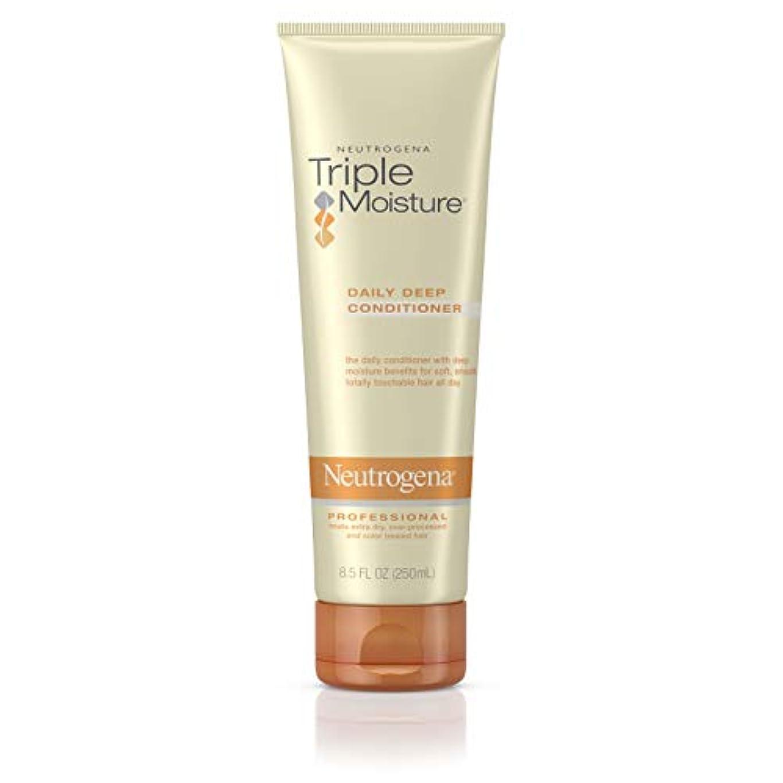 秋応答理論Neutrogena Triple Moisture Daily Deep Conditioner 250 ml (並行輸入品)