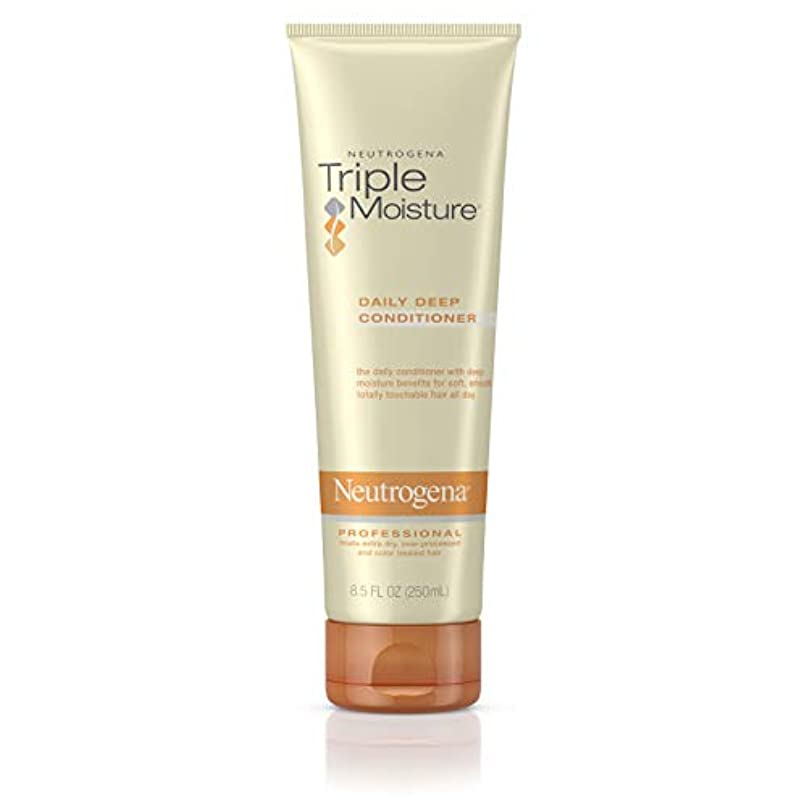 謙虚結晶アカデミックNeutrogena Triple Moisture Daily Deep Conditioner 250 ml (並行輸入品)