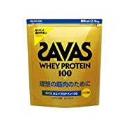 ザバス ZAVAS ホエイプロテイン100 バニラ 2.5kg<BR>[cosme]