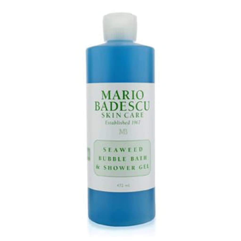 物理的にカジュアル中で[Mario Badescu] Seaweed Bubble Bath & Shower Gel 472ml/16oz