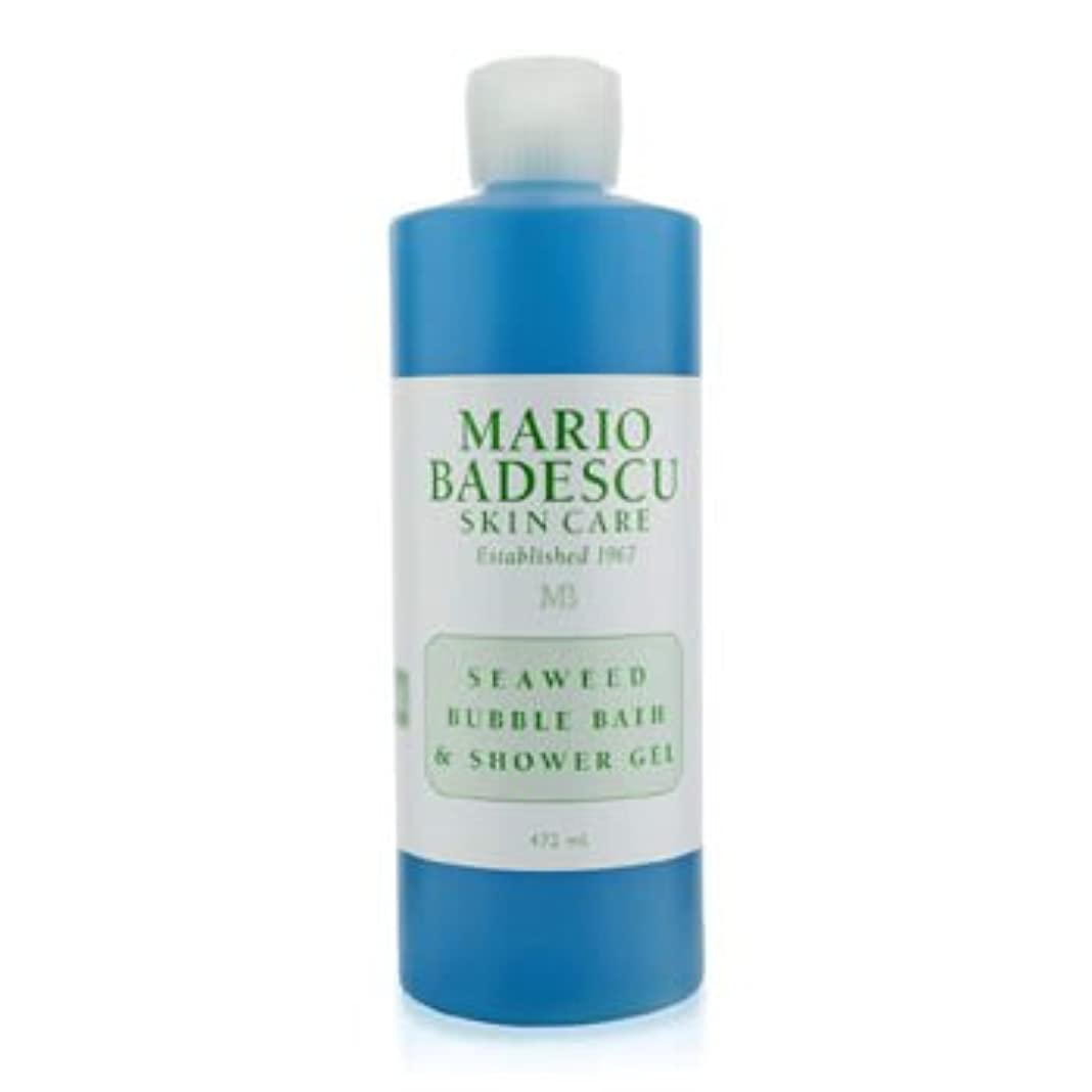 祖母プレゼンターテザー[Mario Badescu] Seaweed Bubble Bath & Shower Gel 472ml/16oz