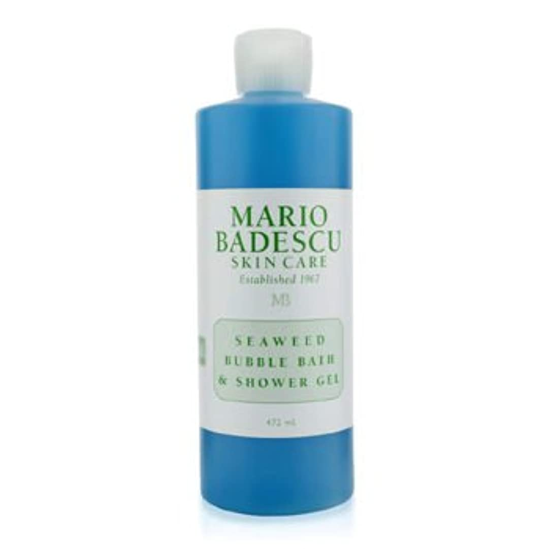 識別する厳密に習字[Mario Badescu] Seaweed Bubble Bath & Shower Gel 472ml/16oz