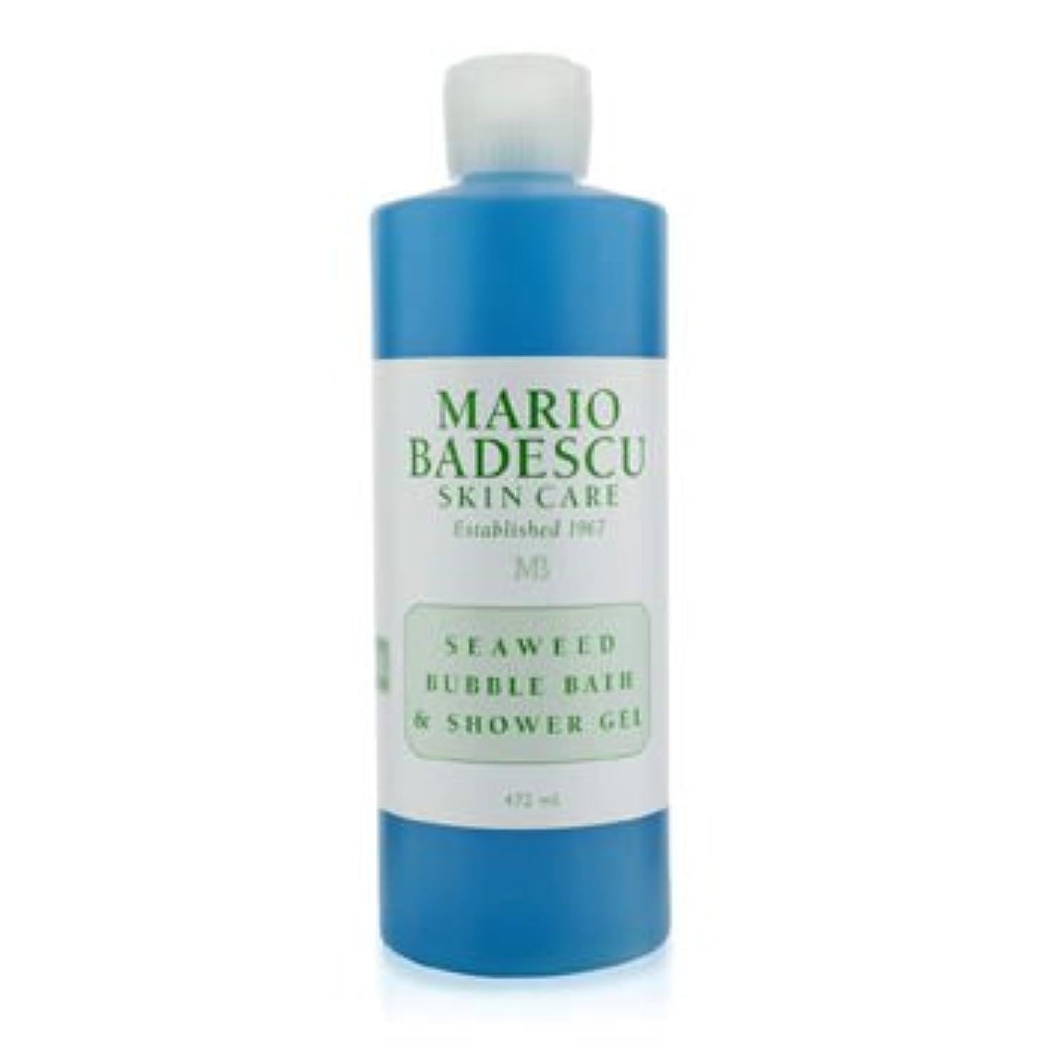 質量日付定説[Mario Badescu] Seaweed Bubble Bath & Shower Gel 472ml/16oz