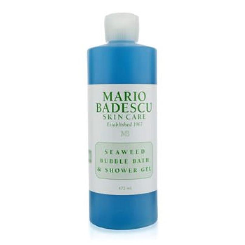 パンダ紛争不信[Mario Badescu] Seaweed Bubble Bath & Shower Gel 472ml/16oz