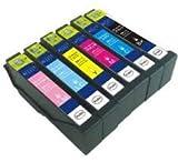ICチップ付増量タイプ EPSON(エプソン)対応・互換インク IC70L(IC-70)系 プリンターインク 増量タイプ 全6色セット