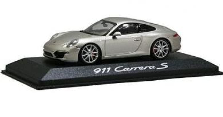 ミニチャンプス 1/43 ポルシェ 911 カレラ S シルバー 2011 MINICHAMPS PORSCHE 911(991) CARRERA SILVER