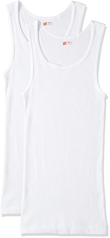 (ヘインズ)Hanes タンクトップ Aシャツ 2枚組 綿100%