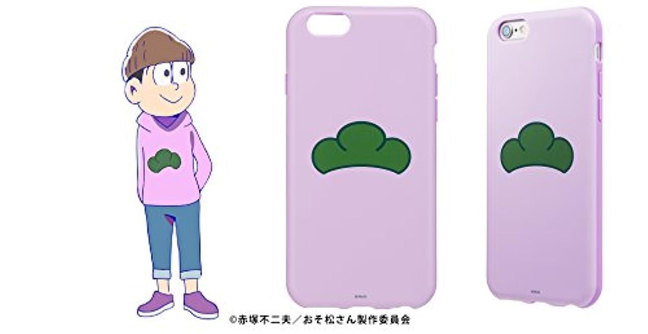 現実を除くしなやか【正規代理店品】SoftBank SELECTION おそ松さん 推し松ケース for iPhone 6s/6 トド松