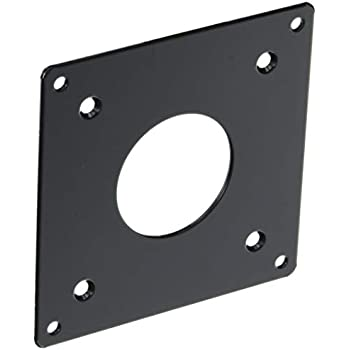 NBROS モニターアーム用 VESA規格 変換プレート [ 75mm → 100mm ] NB-VS7510-A