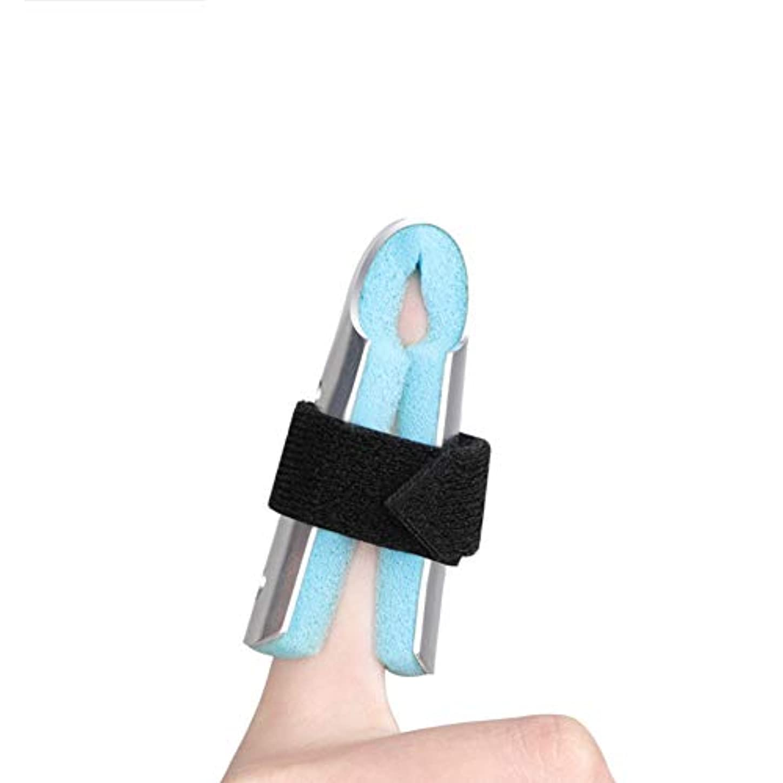 ピック提出する役に立たない手の副木指のサポートトリガーフィンガーマレットフィンガーフィンガーナックル固定フィンガー骨折創傷術後のケアと痛みの軽減,M