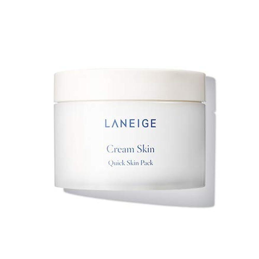意気揚々苛性酸素【ラネージュ.laneige]クリームスキンクイックスキンパック(100sheet、140ml、2019.06新発売)/ cream skin quick skin pack