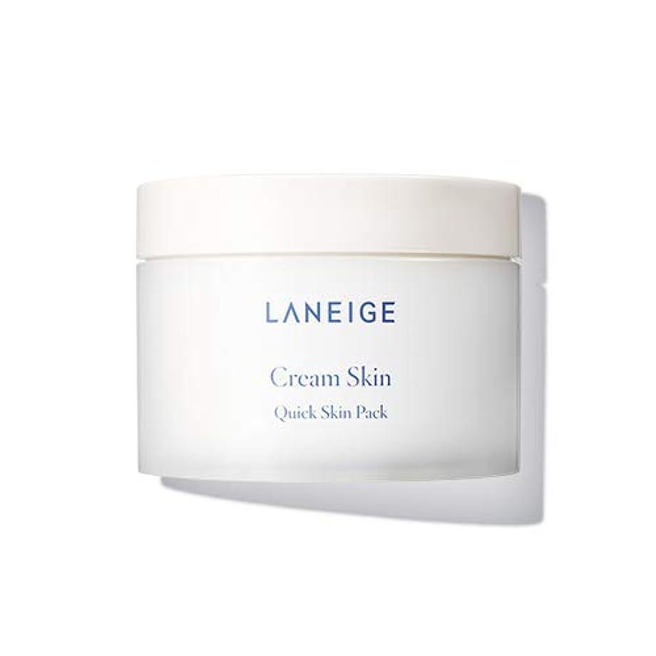 疲れた化学者明確に【ラネージュ.laneige]クリームスキンクイックスキンパック(100sheet、140ml、2019.06新発売)/ cream skin quick skin pack