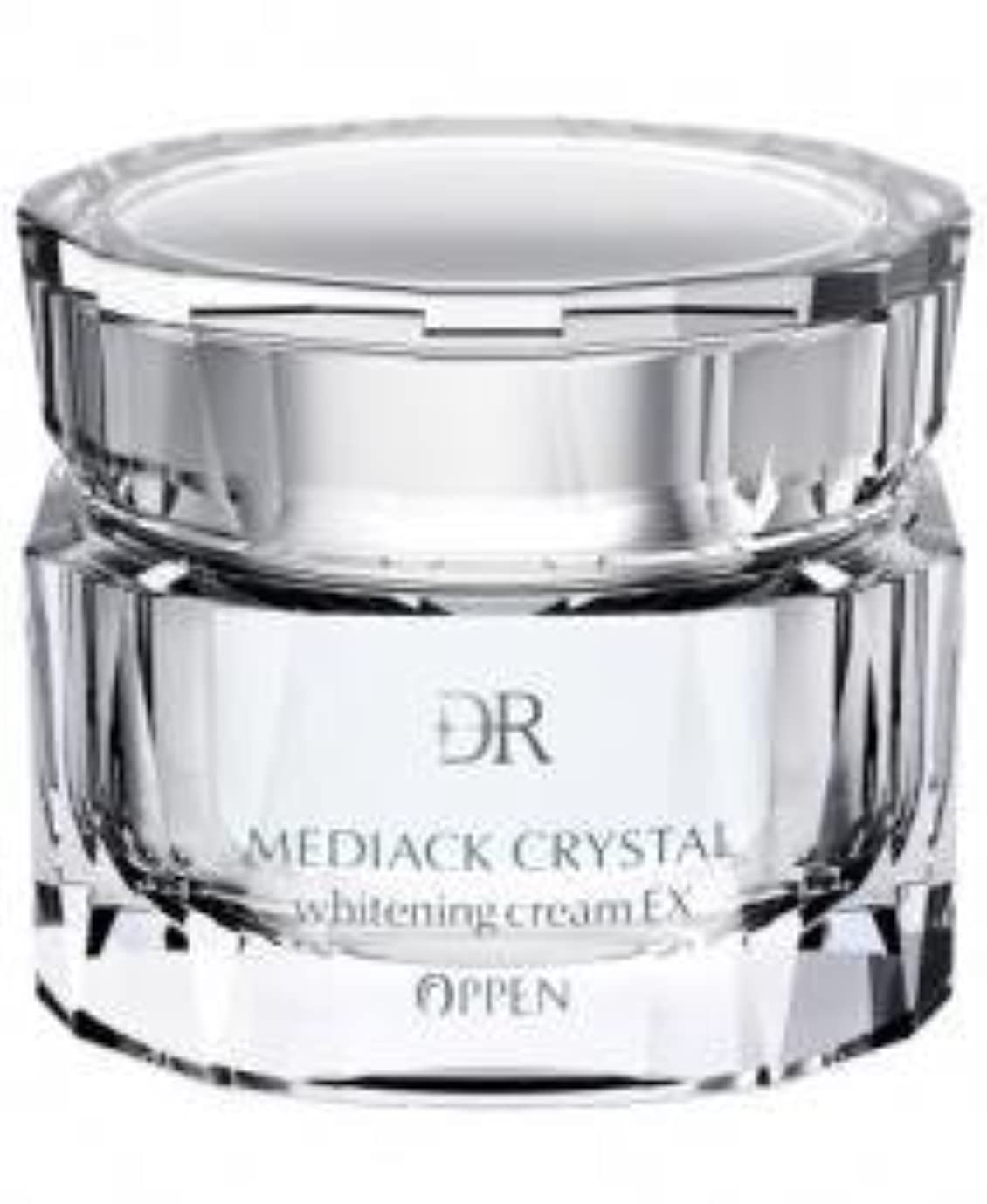 潤滑するトランスペアレントサーカスオッペン化粧品【OPPEN】 DRメディアッククリスタル ホワイトニングクリーム 35g