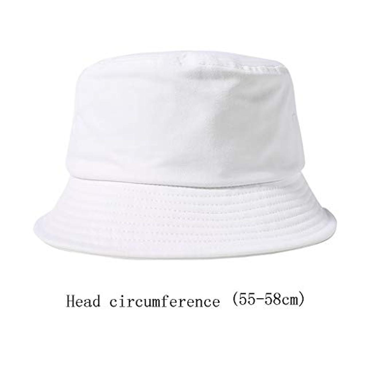 ディンカルビル訪問戻す漁師帽子ファッション女性の帽子潮ブランドビッグヘッド流域帽子日焼け止めヒップホップ抗uv流域キャップ (Color : B, Size : 55-58CM)