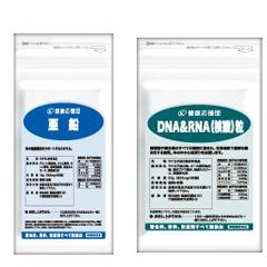 (お徳用3か月分)亜鉛 + 核酸(DNA&RNA) 3袋&3袋セット (亜鉛・セレン・クロム・DNA・RNA)