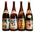 鹿児島芋焼酎 おすすめ4本(伊佐美・かいもしょちゅ・薩摩維新・南之方) 飲み比べセット