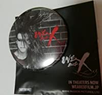XJAPAN WE ARE X 入場記念 缶バッジ