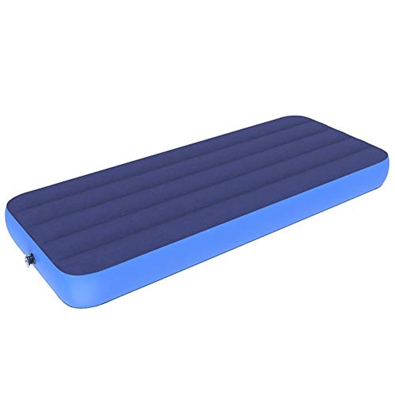 ゲスト定期的知覚Okiiting 携帯用エアマットレス、エアマットレス、屋外用マットレス、快適な手、柔らかく、丈夫、軽量、品質保証 うまく設計された (色 : Bed+hand pump, サイズ : 191*76*22cm)