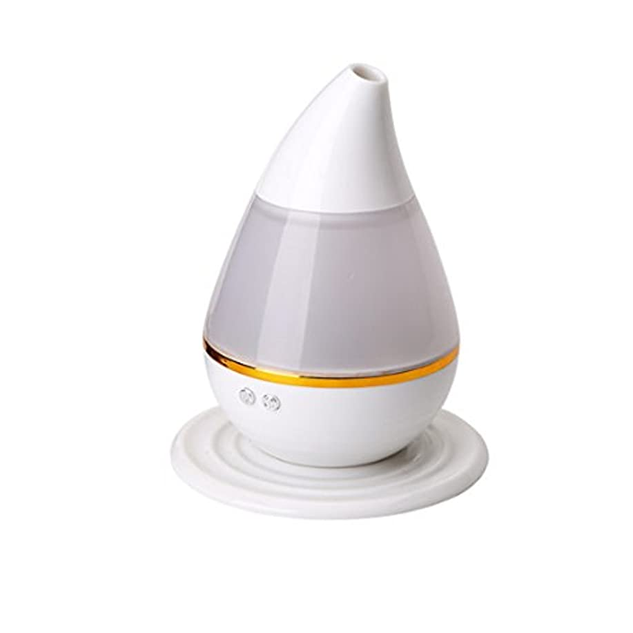 診療所顕微鏡砦Smilemall 加湿器 卓上加湿器 USB加湿器 アロマディフューザー 超音波式/USB給電/自動停止機能/車用/卓上/ オフィス/7色変換