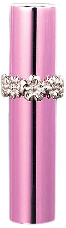 品種涙ゴージャス18533 メタルアトマイザー ピンク ハワイアンリング シルバー