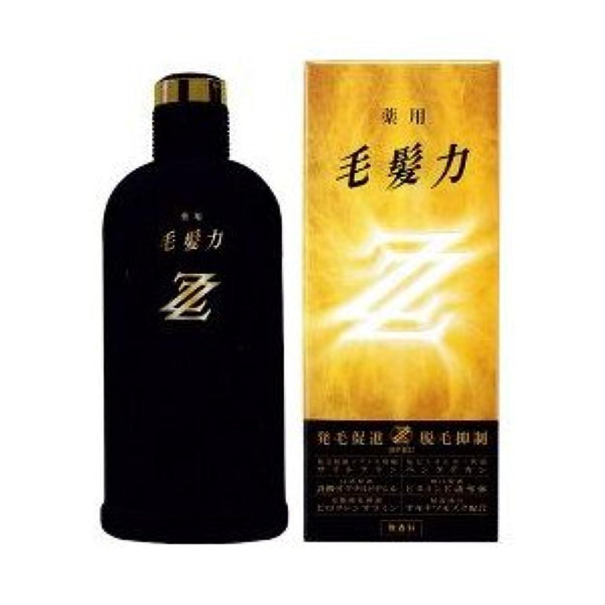 事業標高ミニチュアライオン 薬用毛髪力ZZ 無香料 200ML
