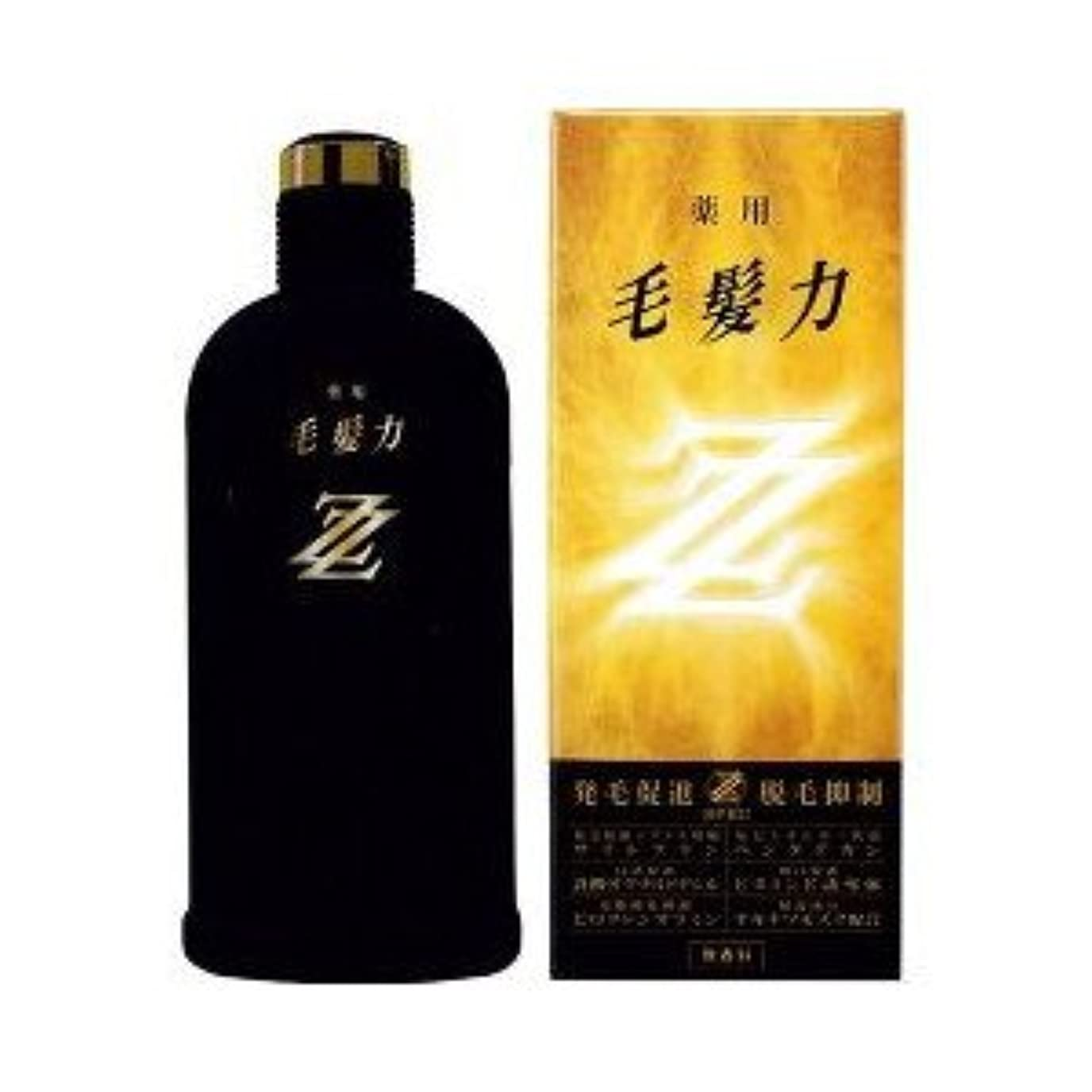 拍手マサッチョゴールライオン 薬用毛髪力ZZ 無香料 200ML